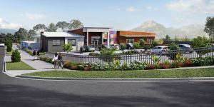 construction of childcare centre in Collingwood Park